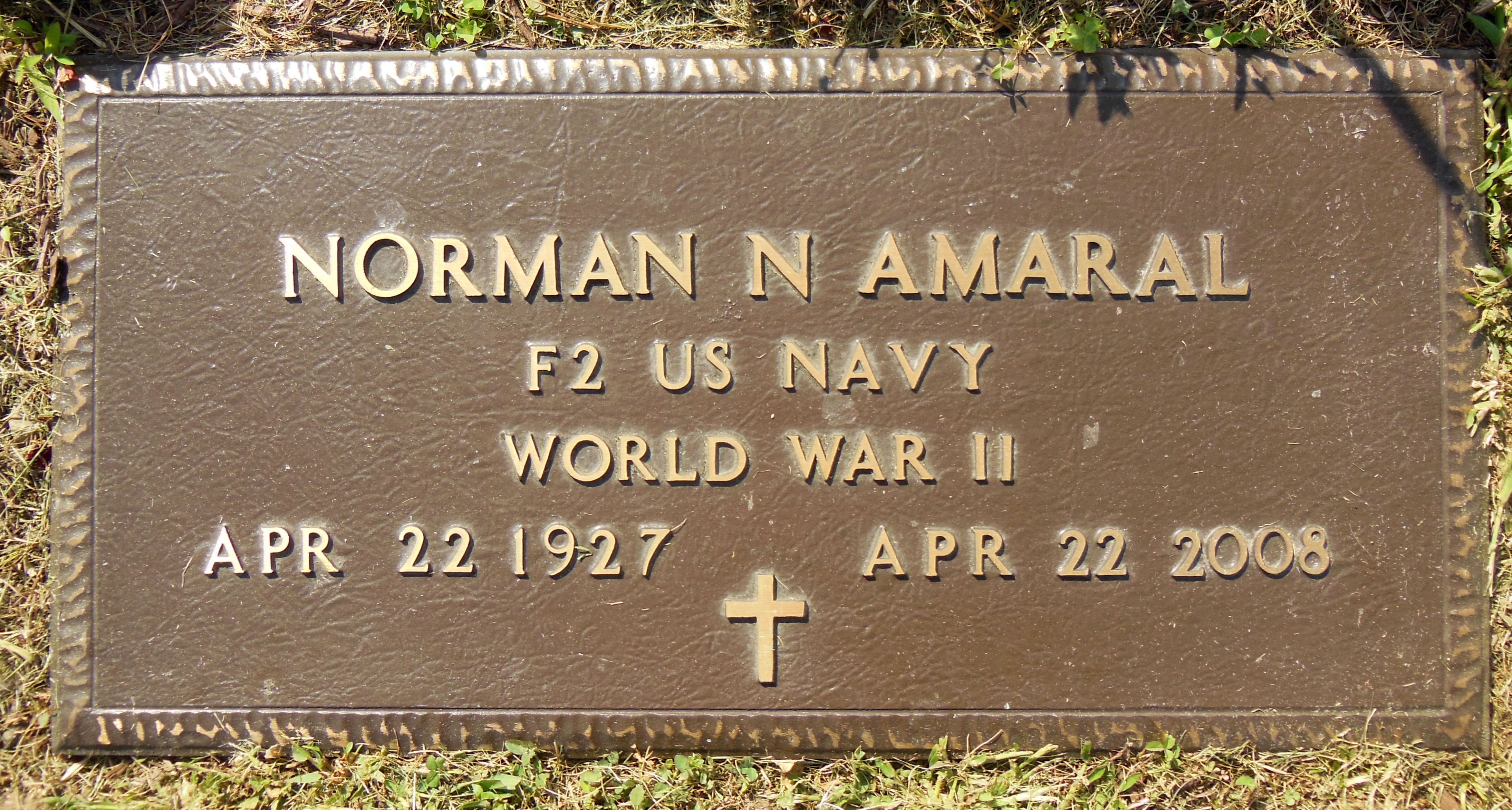 Interred Image: Amaral, Norman_military.jpg